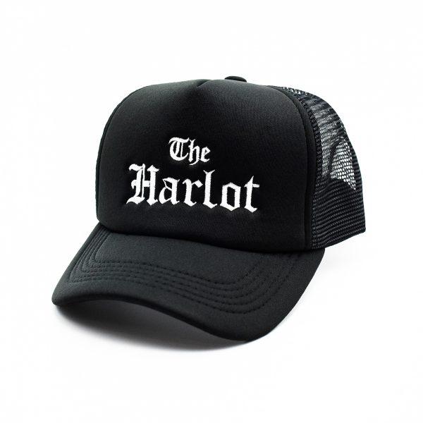 The Harlot Trucker Hat_FRONT