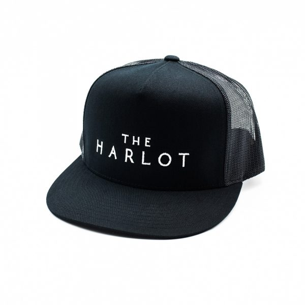 The Harlot Classic Flat Billed Hat