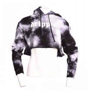 Drippin' Cropped Hoodie